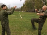 Рукопашный бой с урожием. Приёмы нападения-удары ножом