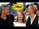 Julia Roberts, Jodie Foster and George Clooney CANNES 2016 Footage - MONEY MONSTER Photocall (HD)
