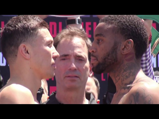 GGG Gennady Golovkin vs Dominic Wade - FACE OFF @ WEIGH IN