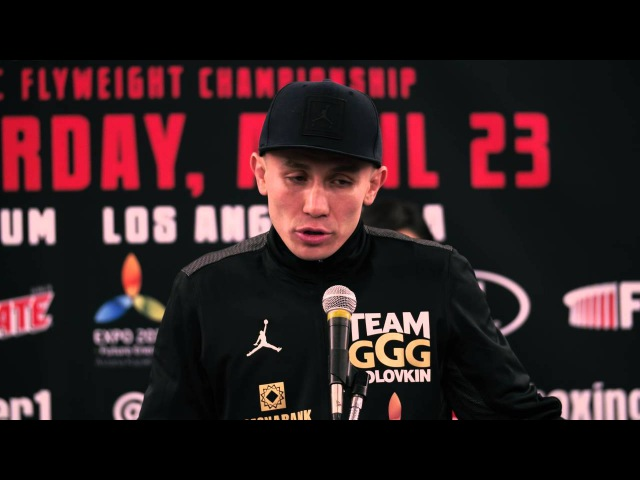 Gennady GGG Golovkin vs. Dominic Wade, Official Press Conference, Fight Week, Los Angeles