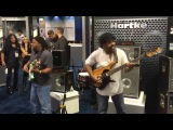 Victor Wooten and Anthony Wellington at NAMM 2016