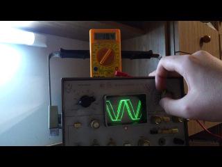 Тест мощности усилителя Бриг у001(4Ом) при нагрузке 8Ом