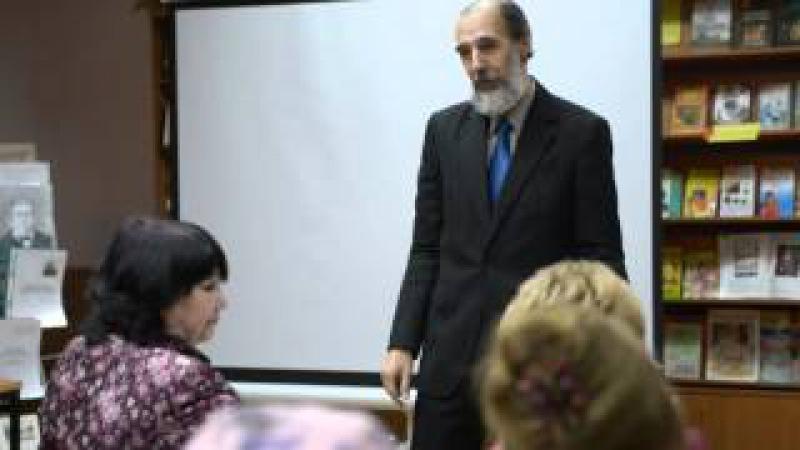 2015.11.27 - Иваново - Профессор текстильных наук Юрий Бархоткин