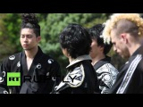 Japan: See Japan's first paid foreign ninja Chris O'Neill in action