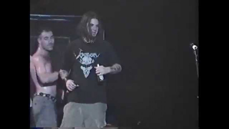Anthrax W/Philip Anselmo - Dethroned Emperor (Celtic Frost) Orlando,Fl 12.3.97