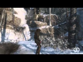 Прохождение Rise of the Tomb Raider — Часть 9: Снова Одна.Новый Костюм и Гробница #aac