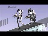 Прохождение Portal 2 CO-OP Дмитрий Бэйл и TheEasyNick — Часть 7: Прыгучая Слизь #aac