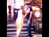Girl strips naked in shopping centre after boyfriend refuses to buy her iPhone 6s