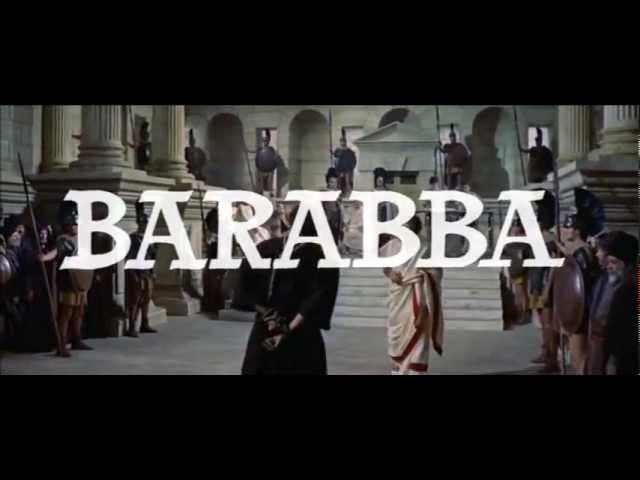 Разбойник Варавва (Barabbas) 1961 - трейлер - Eritern.com