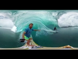 Завораживает! Сюрреалистический сёрфинг с панорамной камерой
