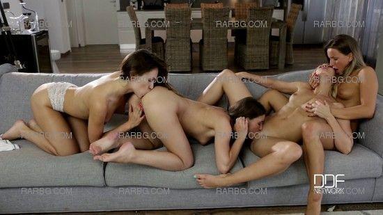 [DDF Network / EuroGirlsOnGirls] Sindy Black, Jenny Appach, Tracy Lindsay & Whitney Conroy