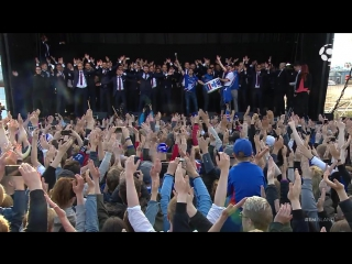 Исландия вернулась домой и устроила перекличку с фанатами — Ху!