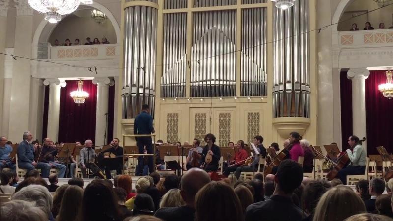 Alkinoos Ioannidis в Большом зале Филармонии