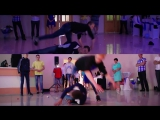 Break dance at the wedding