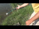 Рыбалка Как забросить резинку с кормушкой Ловля на резинку My fishing