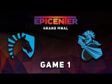 Liquid vs. NewBee - Game 1: GRAND FINAL @ Epicenter Moscow