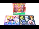 Sailor Moon Petit Chara Figures Starlights Black Moon Christmas 2015