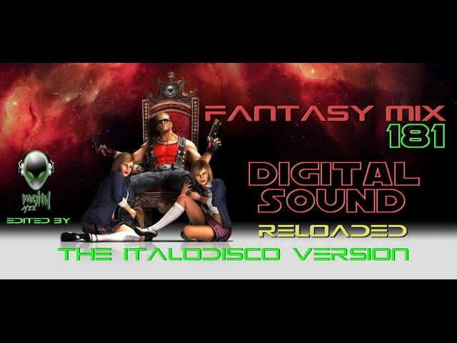 FANTASY MIX 181 - RELOADED ITALODISCO VERSION [mCITY 2O16]