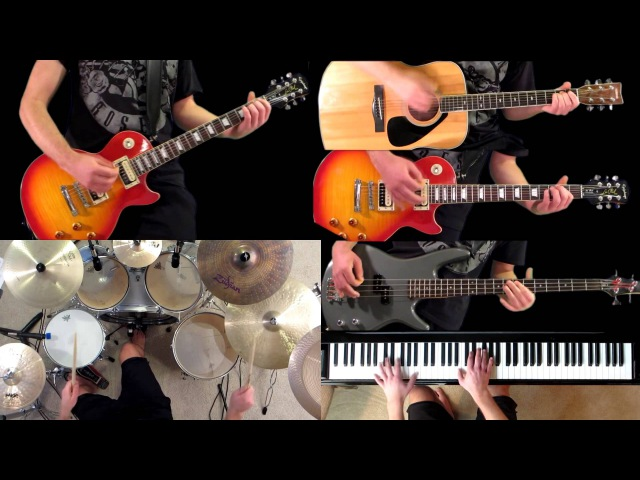 Civil War Guns N' Roses Guitar Bass Piano Drum Cover