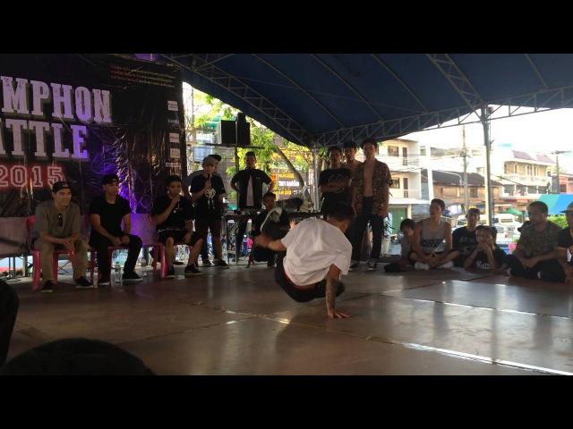 Bboy Twister [2] Chumphon Battle Power Move