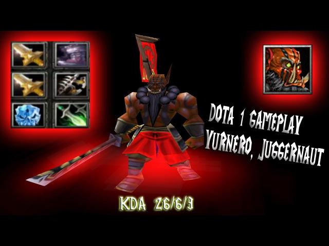 DotA Gameplay Juggernaut - rampage 2 rapier