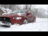 2008 Evo X GSR / Snow Storm 2014