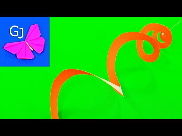 Летний ветерок из бумаги ❤️ Оригами своими руками