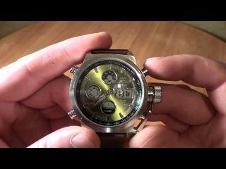 Часы AMST водонепронецаемые и противоударные, настройка и тест, купить