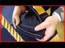 Как укоротить джинсы Как подшить джинсы сохранив фейдинг Как подшить джинсы правильно