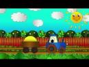 Мультфильмы про Рабочие Машины - Трактор - Весёлая Мозаика