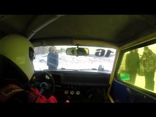 Ледовая гонка г.Вологда заезд 2 шип 1.5мм 04.01.2016 Босак М.С.