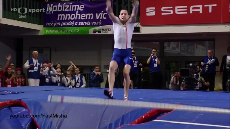 Renaud Lavillenie jumps 6.03m WL 2016 at Jablonec Indoor Gala