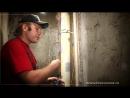 Тонкости ремонта ванной комнаты, душевая кабинка из стеклоблоков