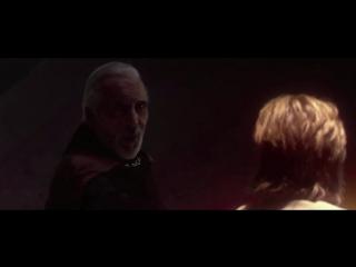 Граф Дуку против Оби-Вана Кеноби,Энакина Скайуокера и Йоды. Звёздные Войны Эпизод 2.Атака Клонов