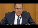 Сергей Лавров ответил украинскому журналисту на вопрос о Донбассе и русском мире