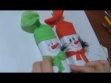 Подарки НА НОВЫЙ ГОД ★ Своими Руками Шоколадка Снеговик Поделки Идеи рукоделия!