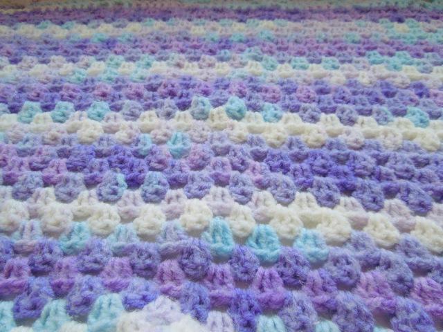 Вязание детского пледа крючком Просто и красиво How to crochet a baby blanket