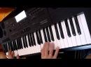 гр.Фристайл - Ах, какая женщина на синтезаторе Casio CTK-7200