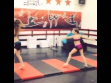 Maddie and Kenzie SUCK AT ACRO!