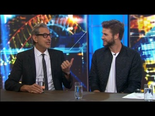 Liam Hemsworth & Jeff Goldblum LIVE - I D 2 RESURGENCE Movie Interview June 1 2016