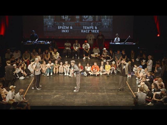 INFINITE FORCE 2016 POPPING SEMI FINAL SPAZM INXI VS KACZOREX TEMP | Danceproject.info
