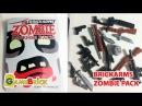 ЛЕГО ОРУЖИЕ Обзор брикармс зомби пак Розыгрыш! brickarms Zombie Defense 2016 Pack