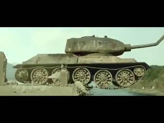Эпичное Корейское кино Танк Т34 85 против американского истребителя Мустанг gbxyjt rjhtqcrjt rbyj nfyr n34 85 ghjnbd fvthbrfy