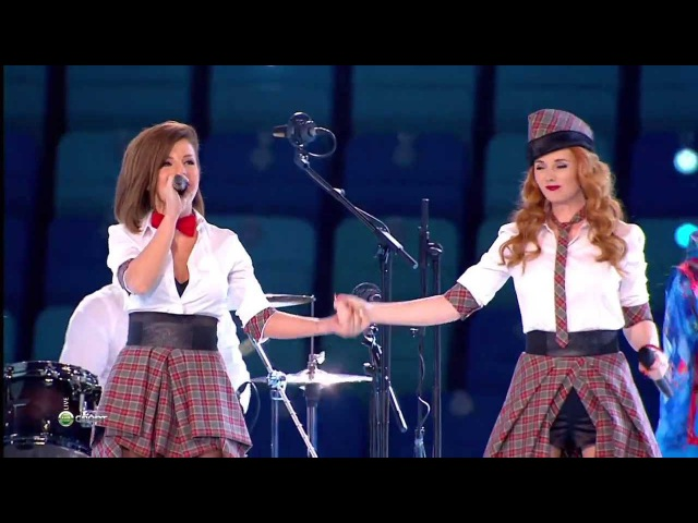 (HD) Тату - Нас не догонят / Live in Sochi 2014 / t.A.T.u. - Not gonna get us
