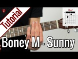 Boney M. (Bobby Hebb) - Sunny  Gitarren Tutorial Deutsch