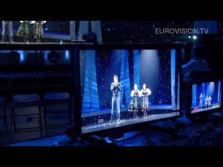 Marcin Mroziński's first rehearsal (impression) at the 2010 Eurovision Song Contest