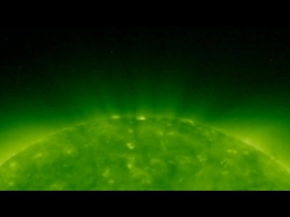 Объект невидимой стороны Солнца. Object of the Sun