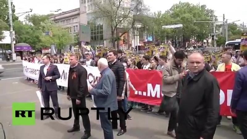 Moldawien- US-Militär muss nach heftigen Protesten am Tag des Sieges aus Kischin