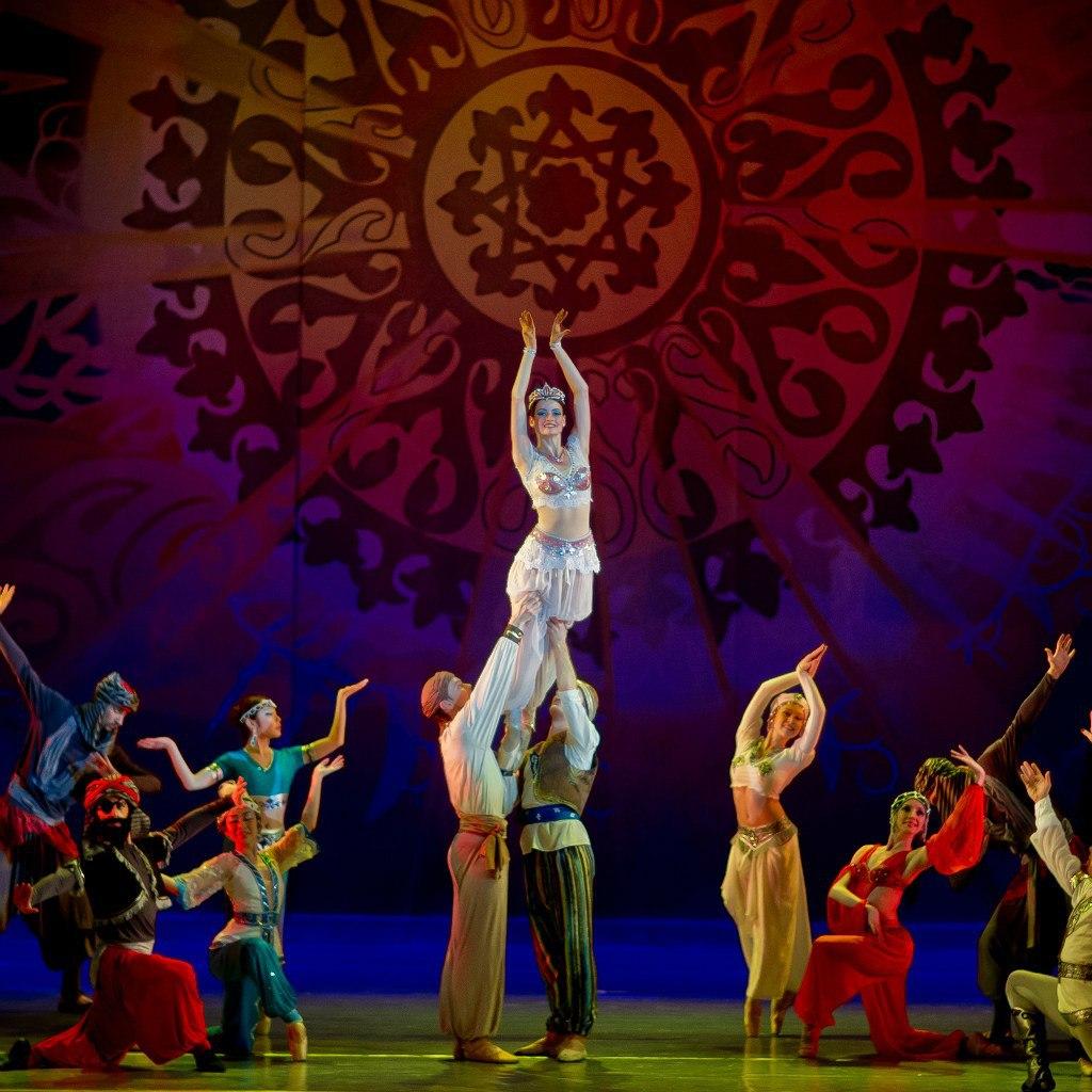 балет тысяча и одна ночь