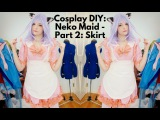 Cosplay DIY: Neko Maid - Part 2: Skirt